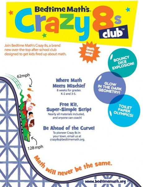 Crazy 8s Club Flier