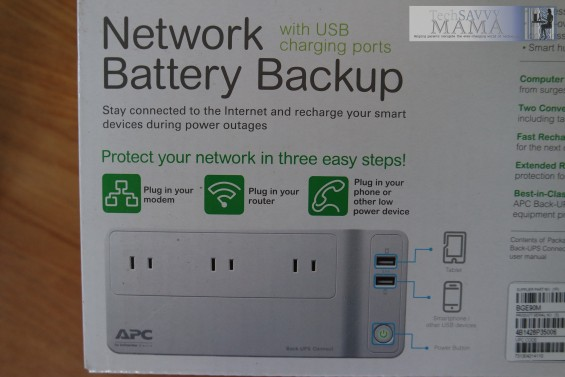 APC Back-UPS™ Network Battery Backup Features