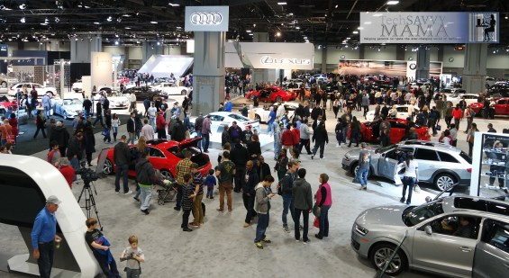 Attend an auto show to look without pressure to buy