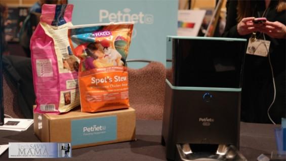 PetNet SmartFeeder at CES 2015