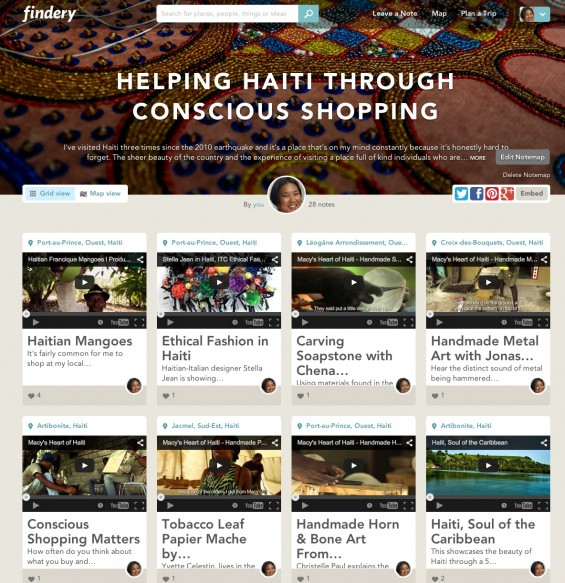 Learn about Haiti through Findery