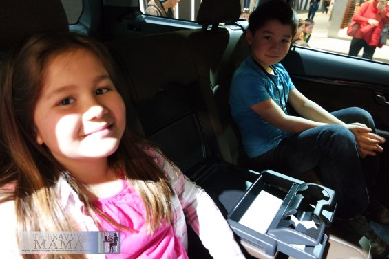 Attend an auto show together to try out cars as a family