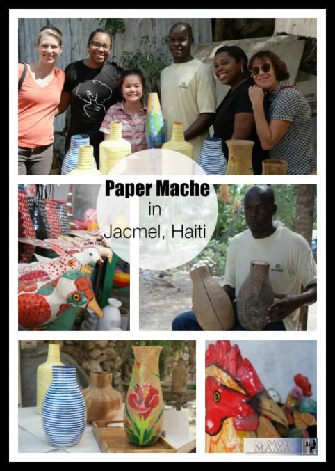 Paper Mache in Jacmel, Haiti