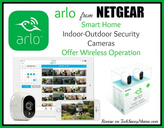Netgear's Arlo Smart Home Security Cameras Offer Wireless Operation