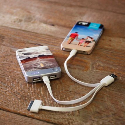 Shutterfly Photo Gallery Portable Charger