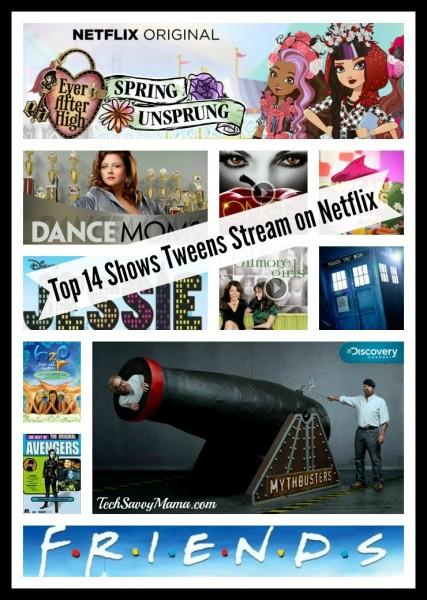 Top 14 Shows Tweens Stream on Netflix