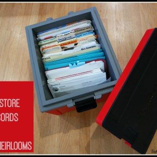 How to Safely Store Tax Records and Family Heirlooms