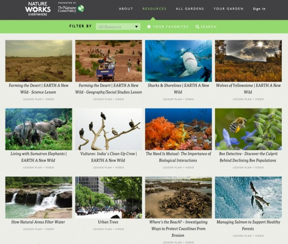 Nature Conservancy's Nature Works Everywhere Free Virtual Field Trips Extend Learning Beyond the Classroom