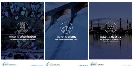 Water Is Urbanization, Energy, and Industry