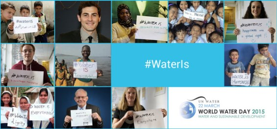 World Water Day Thunderclap