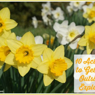 10 Activities to Get Toddlers & Preschoolers to Explore the Outdoors
