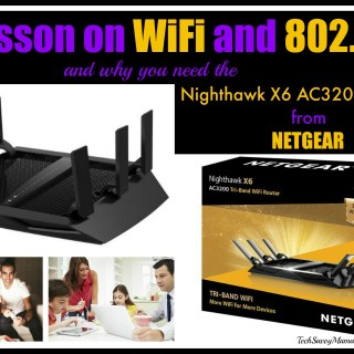 A Lesson on WiFi Speeds & 802.11ac and Why You Need the NETGEAR Nighthawk X6 (R8000)