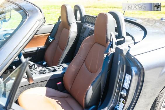 Mazda MX-5 Miata Grand Touring Edition Spicy Mocha Interior
