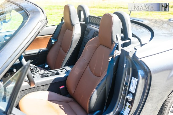 Mazda MX-5 Miata Grand Touring Edition Spicy Mocha Interior