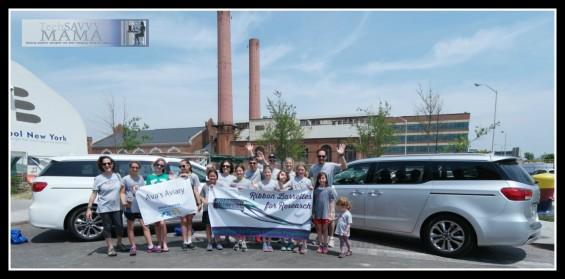 Ava's Aviary with Kia Sedona Vans at 2015 Great Strides Walk Benefitting the Cystic Fibrosis Foundation
