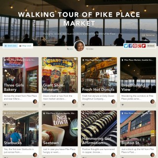 Take My Virtual Walking Tour of Pike Place Market on Findery & Huffington Post