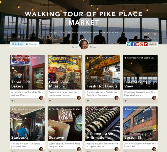 TechSavvyMama's Walking Tour of Pike Place Market on Findery