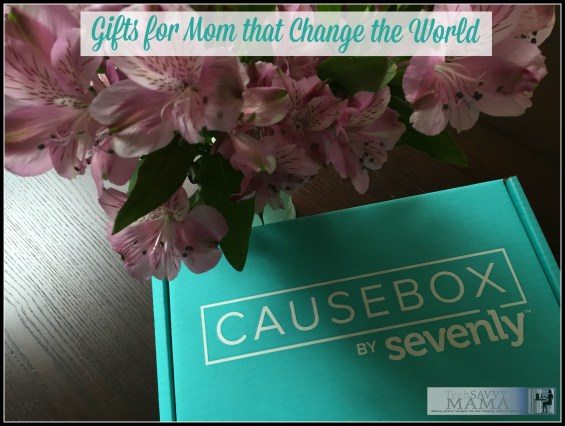 Sevenly's CAUSEBOX- A Curated Collection of Gifts for Mom that Change the World