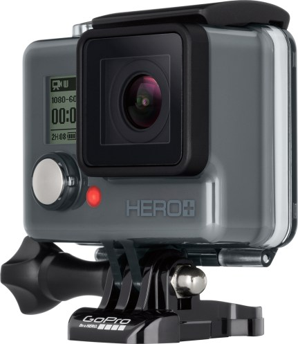 Front of GoPro HERO + LCD