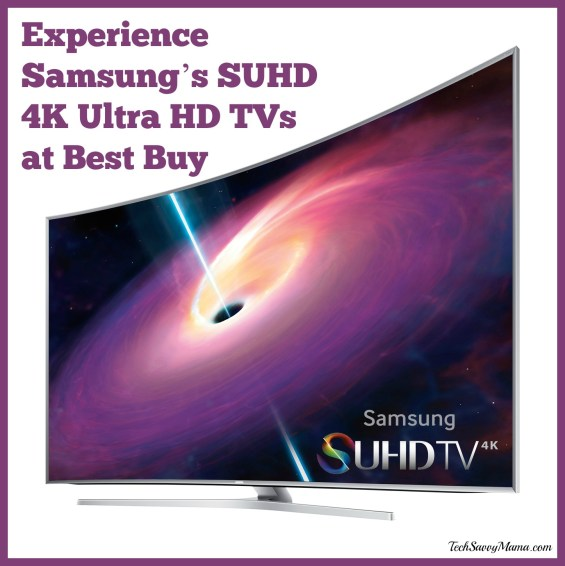 Experience Samsung's SUHD 4K Ultra HD TVs at Best Buy