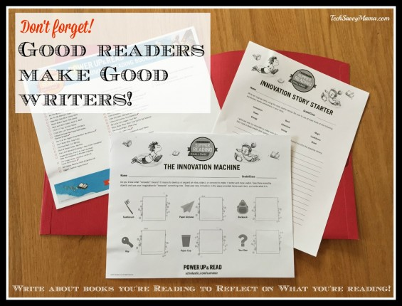 Good readers make good writers. Find kid-friendly graphic organizers to reflect on books you've read through Scholastic #SummerReading Challenge. Details on TechSavvyMama.com