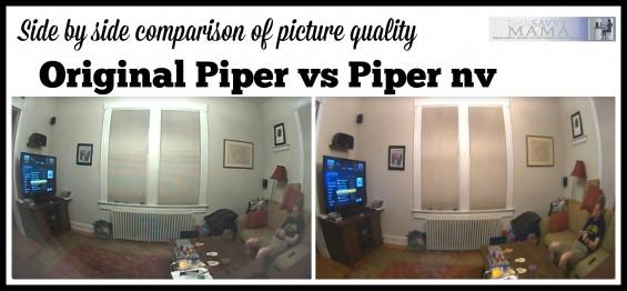 Photo Quality of Original Piper vs Piper nv on TechSavvyMama.com
