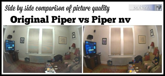 Photo Quality of Original Piper vs Piper nv on TechSavvyMama.com