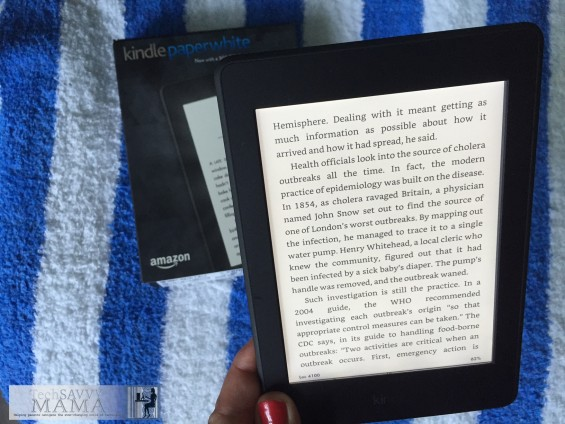 3 Reasons Why You'll Love the New Kindle Paperwhite: #2: Improved layout and typography. Read the other 2 at TechSavvyMama.com