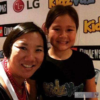 Leticia and Emily Barr at #KidzVuzBTS