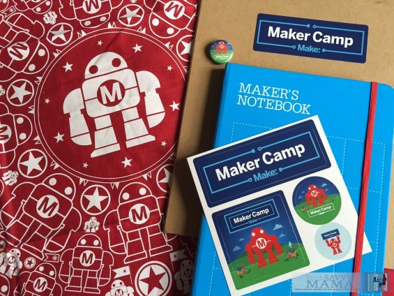 Maker Camp Supplies: Maker Camp Provides Free Virtual Camp and Hands-On Learning for Ages 7-17. Details on TechSavvyMama.com