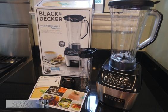 Black & Decker Performance FusionBlade Blender review on TechSavvyMama.com