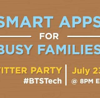 Join Me to Talk Smart Apps for Busy Moms #BTSTech Twitter Party with French Toast (7/23 at 8 pm)