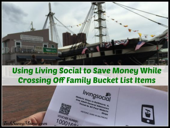 Using Living Social to Save Money While Crossing Off Family Bucket List Items During Travel. Details and giveaway on TechSavvyMama.com #SummerSocial
