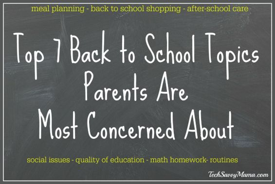Top 7 Back to School Topics Parents Are Most Concerned About and How Bing Can Help