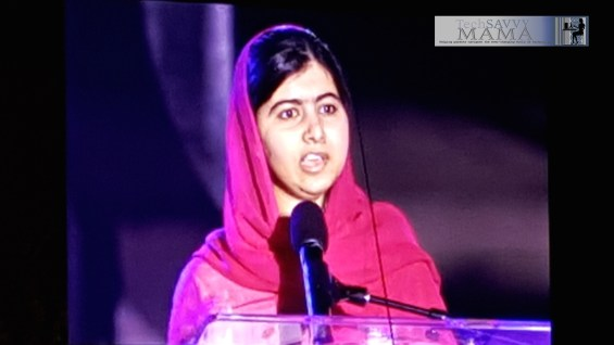 Malala at #GlobalCitizenFestival 2015 #2030Now