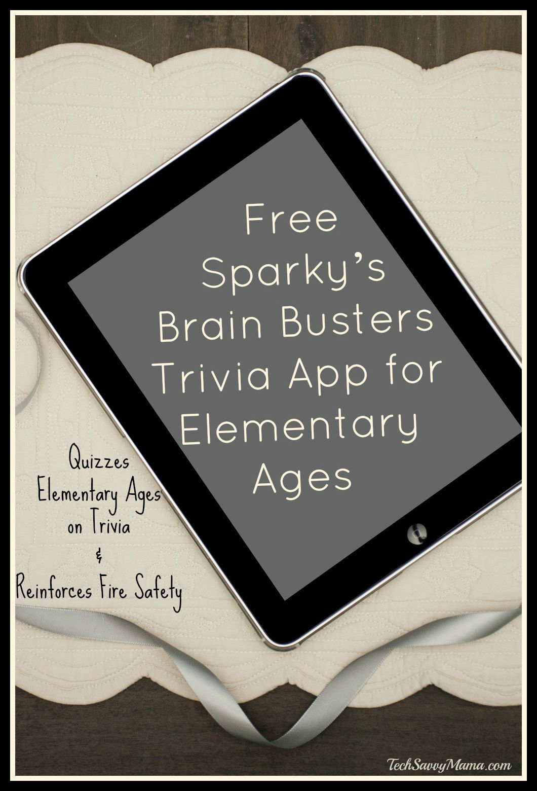 Review Free Sparky S Brain Busters App Quizzes Elementary