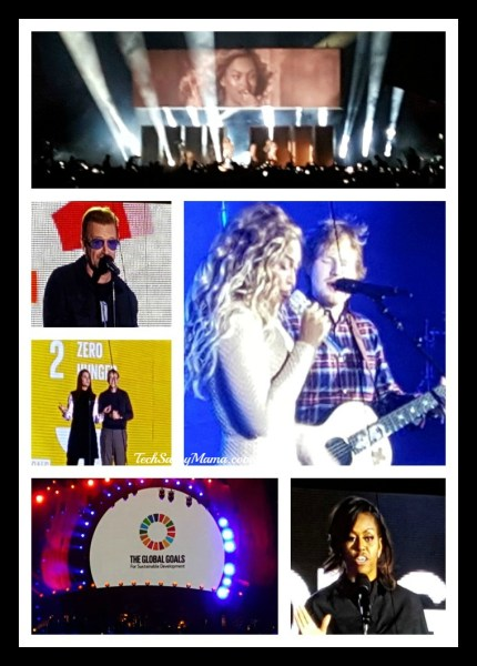 #GlobalCitizenFestival 2015 Collage ©LeticiaBarr