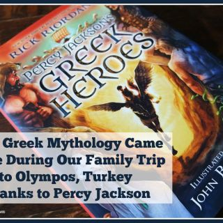 How Greek Mythology Came Alive During our Family Trip to Olympos, Turkey Thanks to Percy Jackson