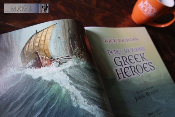 Percy Jackson's Greek Heroes Title Page