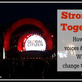 Stronger Together How our voices and actions will change the world