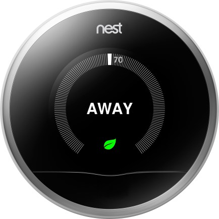 Nest Thermostat Away Screen