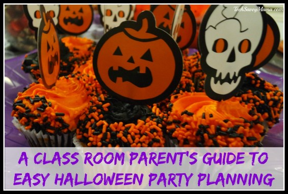 A Class Room Parent's Guide to Easy Halloween Party Planning and Why VolunteerSpot is a Class Room Parent's Party Planning Secret Weapon. Details on TechSavvyMama.com