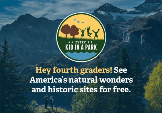National Park Service Every Kid in a Park graphic