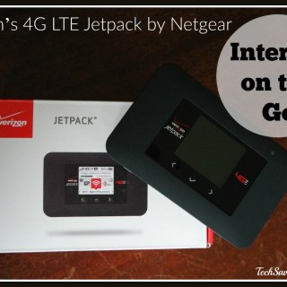 Taking Your Internet on the Go with Verizon's 4G LTE Jetpack by Netgear