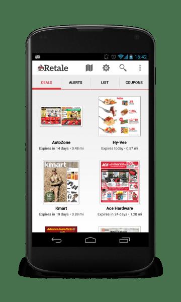 Retale App on Phone