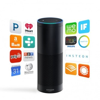 Amazon Echo featured on TechSavvyMama.com's 2015 Best Gifts for Dads