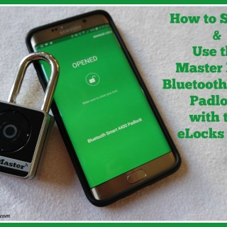 Video Review: How to Set Up & Use Master Lock Bluetooth Smart Padlock #LSSS