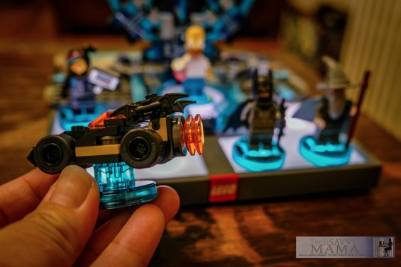 LEGO Dimensions Batmobile comes with the Starter Pack © 2015, Leticia Barr All Rights Reserved