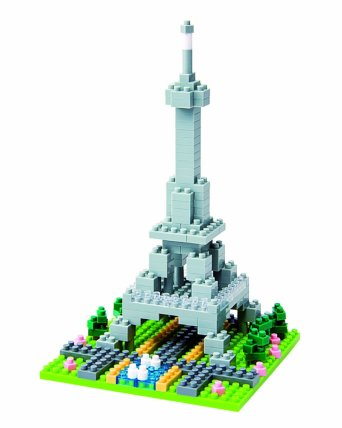 Nanoblock Eiffel Tower featured on TechSavvyMama.com's 2015 Best Best STEM Gifts for All Ages