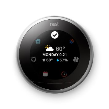 Nest Thermostat featured on TechSavvyMama.com's 2015 Best Gifts for Frequent Fliers